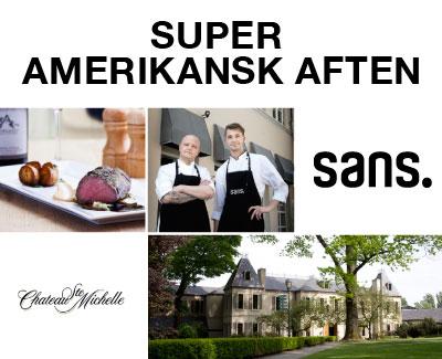 Restaurant SANS inviterer til en Super Amerikansk Aften