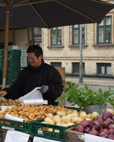 Nyt udendørs torvemarked hver fredag på Gabels Torv