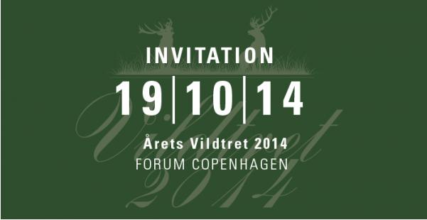 Invitation til Årets Vildtret 2014