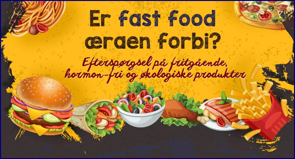 Fastfood-begrebet under forandring