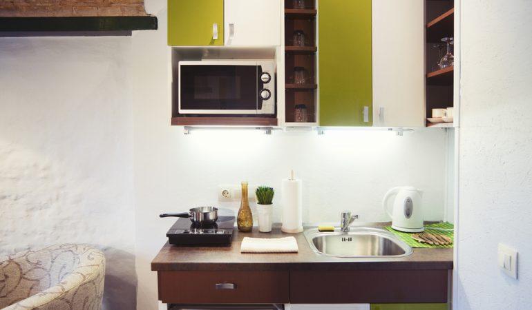 Indretning af små køkkener