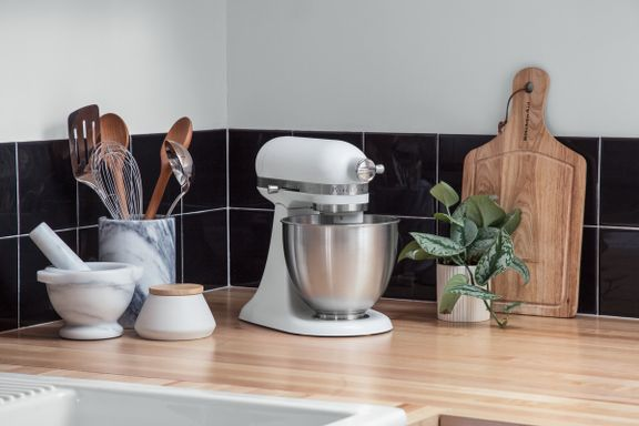Den nye KitchenAid MINI: 20 % mindre. 25 % lettere. 100 % ligeså kraftfuld